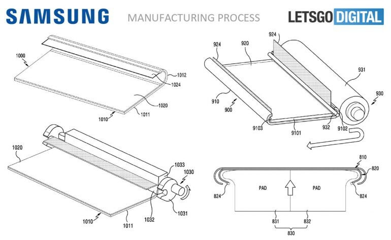 Samsung's latest patent reveals smartphone with fully curved display