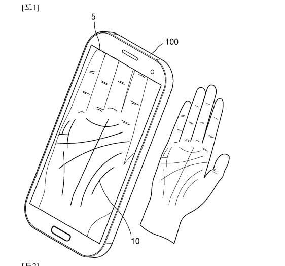 Move over, fingerprints: Samsung patents palm-scanning
