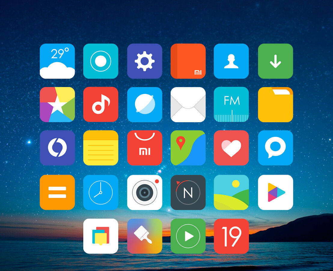 best new icon packs for android december 2017