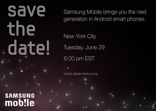 Samsung Galaxy S to be launched on T-Mobile, July 21st?
