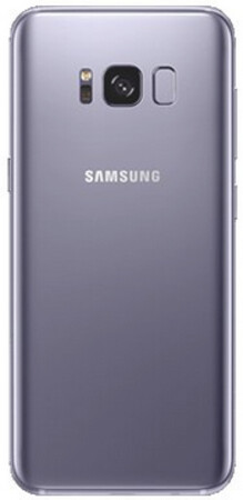 Render of a purple colored Samsung Galaxy S8, a color option that has not been released by Samsung for its flagship