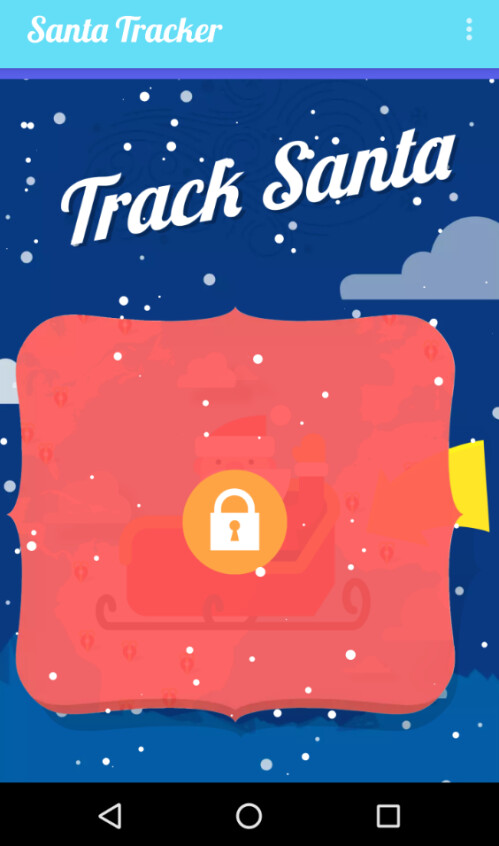 On Christmas Eve, this feature unlocks and users get to track Santa