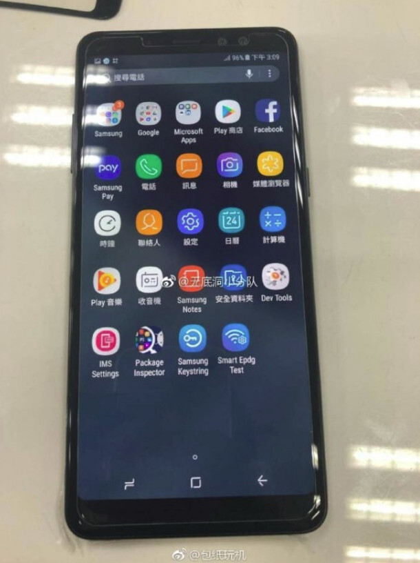 Samsung Galaxy A8+ (2018) looks gorgeous in these leaked live