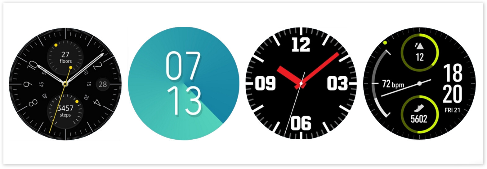Super The official Samsung Gear Sport watch faces are now available on HS83
