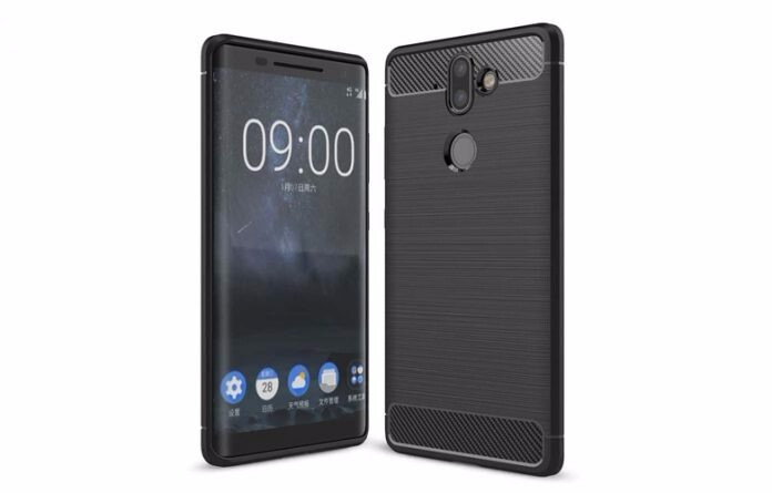 Nokia 9 case render - Report: Nokia 9 and 2nd-gen Nokia 8 could be announced on January 19