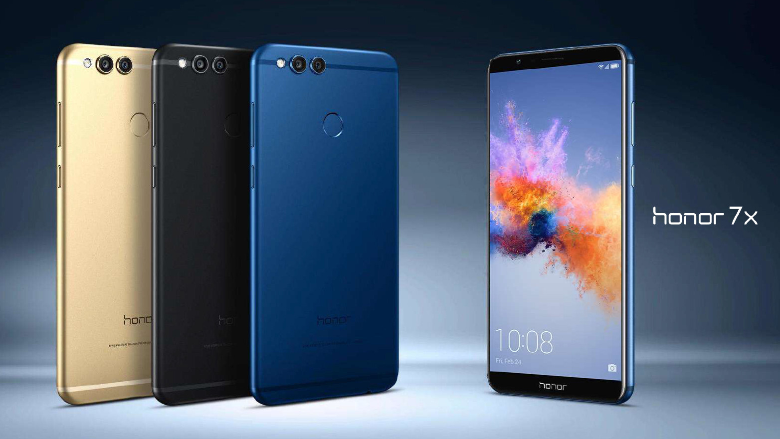 Honor 7x Goes Official 200 Mid Ranger With All Screen