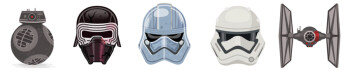 Hey, fellow kids! Skype now has Star Wars-themed Masks (lenses) and smileys