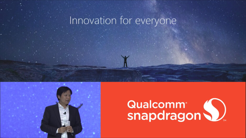 Xiaomi's CEO,Lei Jun - Xiaomi confirms its next flagship will be equipped with Qualcomm's Snapdragon 845 chipset