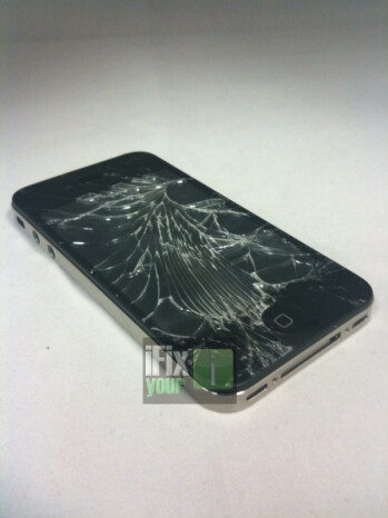 iPhone 4 glass put to the test