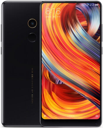 The Black Ceramic Mi Mix 2 is now available