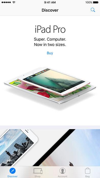 Apple Store App erhält die Option, iPhones ohne Trägervorautorisierung