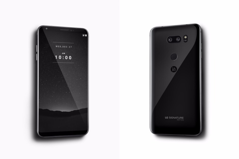 """LG launches V30 """"Signature Edition"""" with ceramic back, Android Oreo, and 6GB RAM, but you can't have it!"""