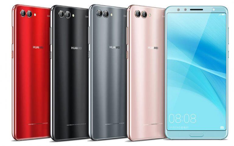Huawei announces the Nova 2s: Up to 6GB RAM, four cameras, aggressive pricing