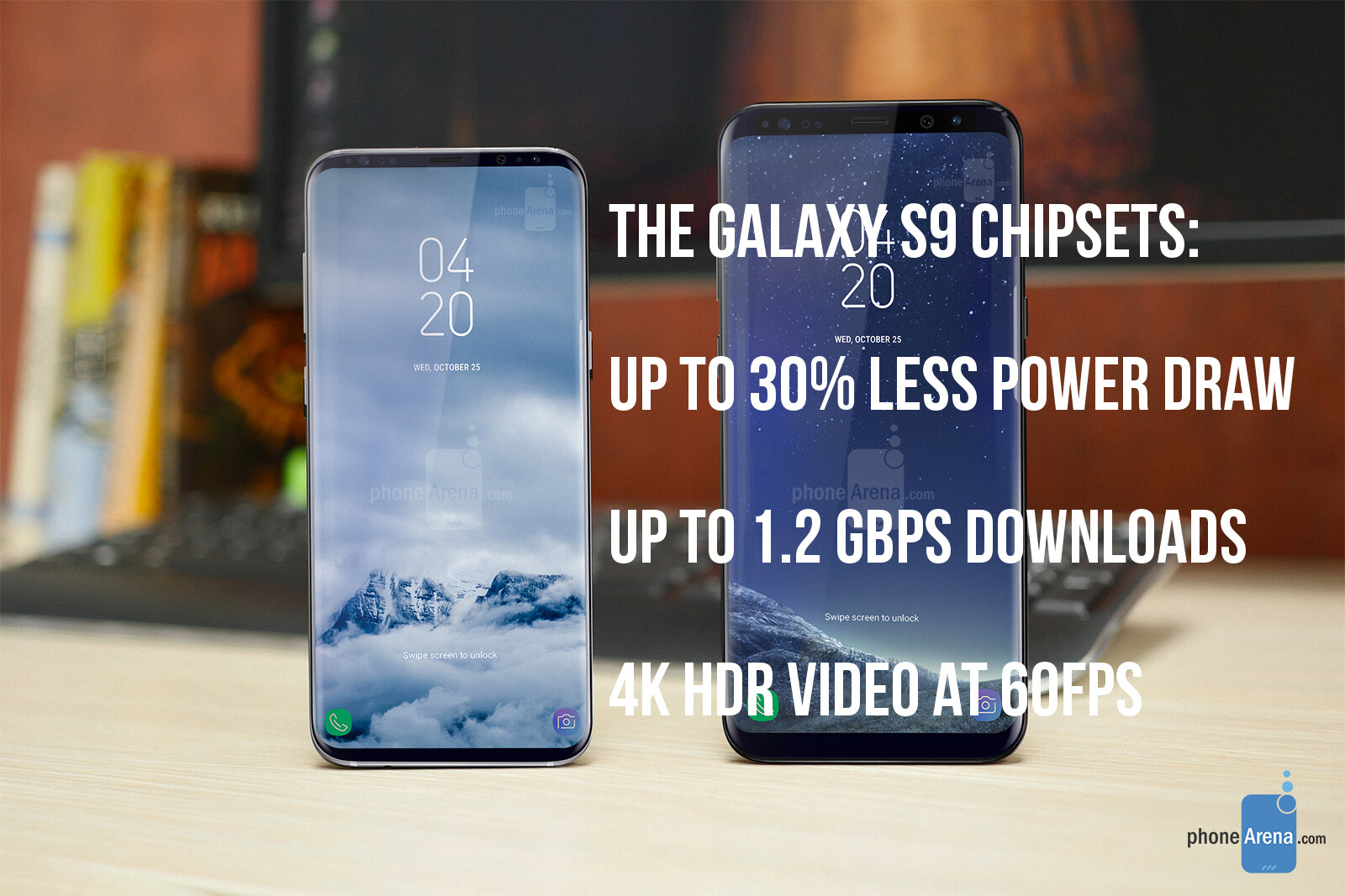Galaxy S9's Snapdragon 845 and Exynos 9810 vs Apple A11