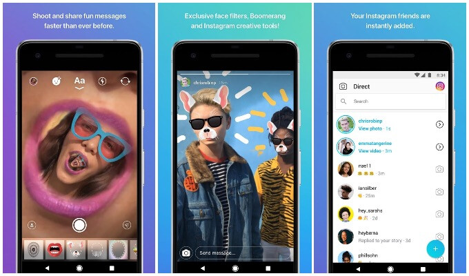 New filters and the Messages Screen in Instagram Direct - Instagram is testing moving Direct messaging to a new app