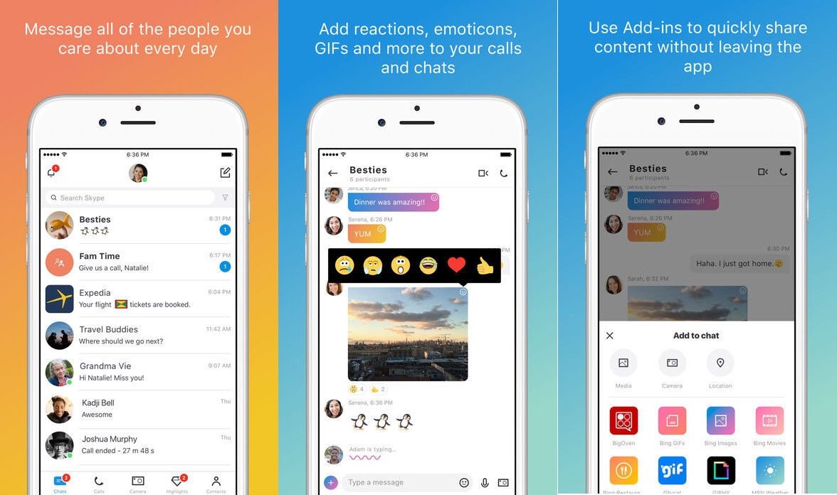 Microsoft updates Skype for iOS with iPhone X support, new