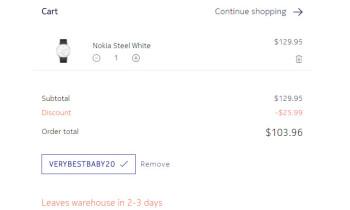 Deal: Nokia Steel smartwatch is on sale for $104 (20  off) until December 20