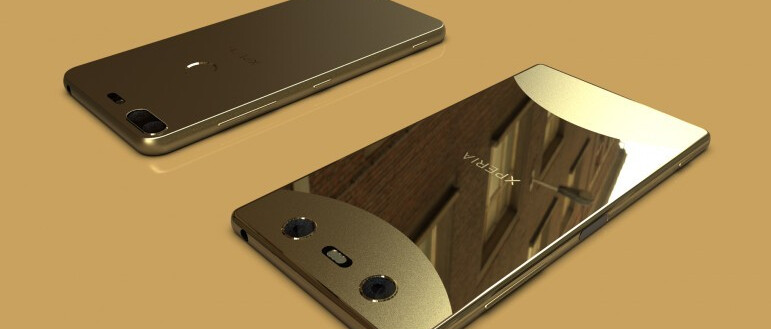 Two of Sony's Xperia phones of 2018 may look like this (thin bezels everywhere)