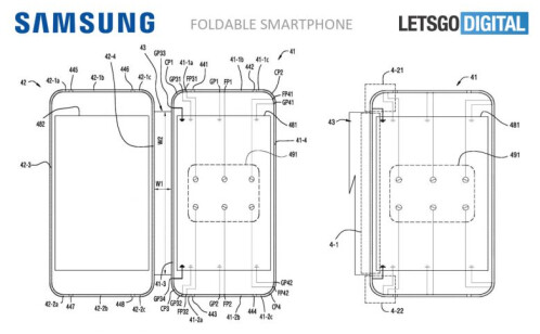 Samsung files patent with the WIPO for a foldable phone