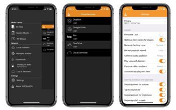 VLC Media Player für iOS mit iPhone X aktualisiert und 4k Videos unterstützen