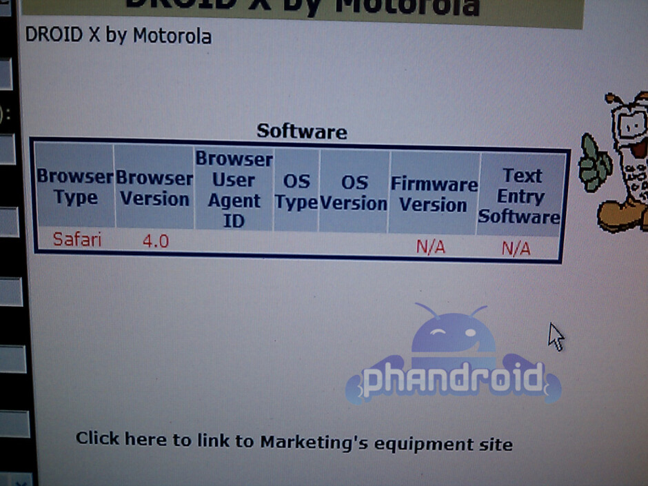 Motorola Droid Xtreme/Shadow will now become simply the Motorola DROID X?
