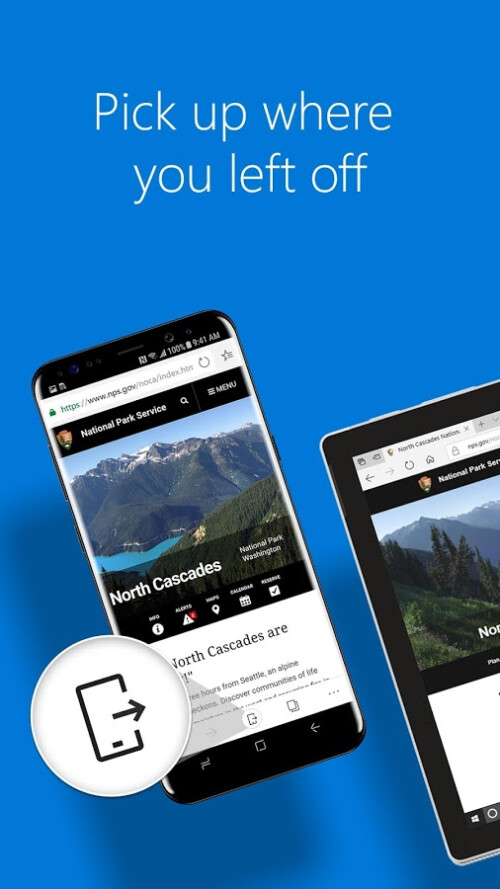 Microsoft Edge übergibt 1 Million Downloads auf Android