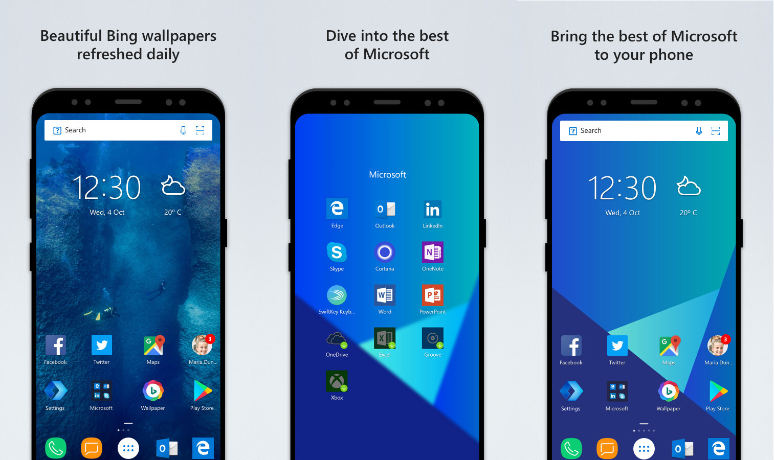 Microsoft Launcher receives major update, adds Home App Grid