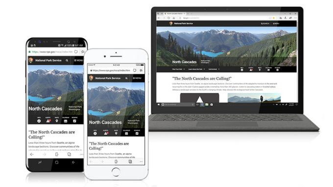 Microsoft Edge works well across devices - Microsoft Edge passes 1 million downloads on Android