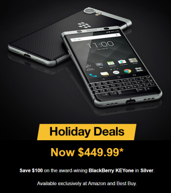 Deal: Save $100 on the BlackBerry KeyOne until Christmas