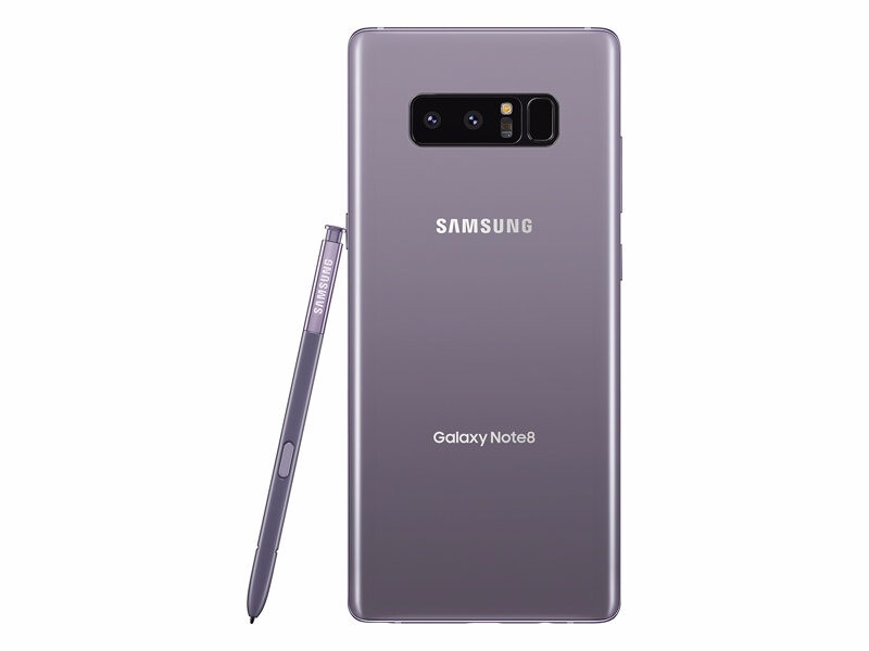 Orchid Gray Samsung Galaxy Note 8 (left) and Galaxy S8 (right) - Samsung Galaxy A (2018) series rumored to launch in these three colors