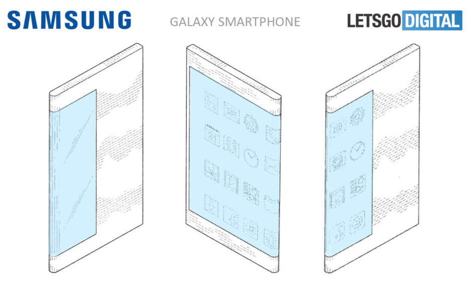 Here is what Samsung's upcoming foldable smartphone may look like
