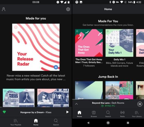 Wichtige Änderungen an der Oberfläche kommen für einige Android-Benutzer