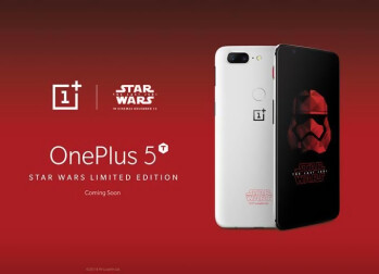 OnePlus 5T Star Wars Limited Edition Launched in India at Rs 38999