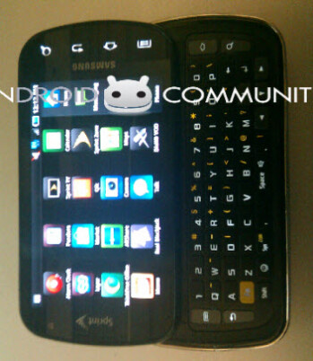 First image of the Samsung Galaxy S Pro reveals that it's headed to Sprint?