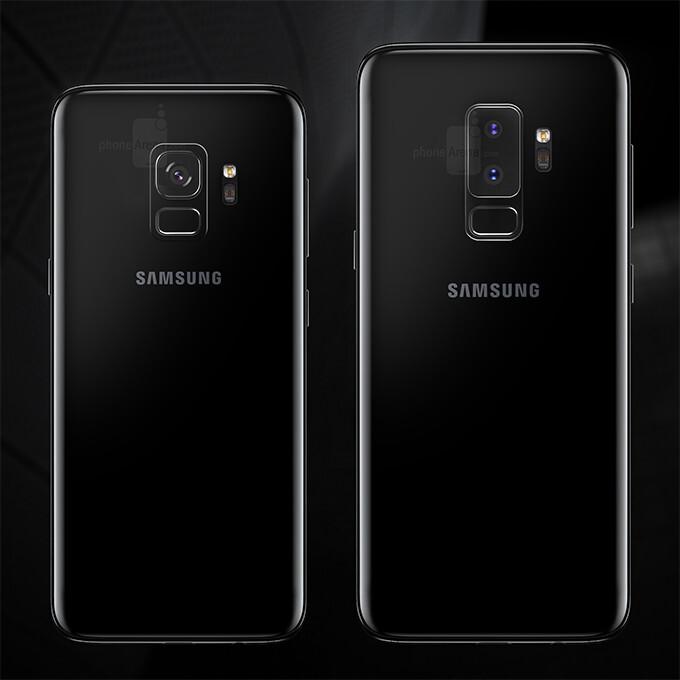 Samsung Galaxy S9/S9+ dimensions and size comparison
