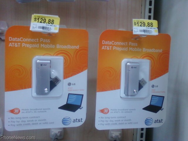 walmart is now selling at t 39 s prepaid dataconnect pass usb modem. Black Bedroom Furniture Sets. Home Design Ideas