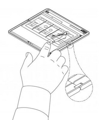 Latest patent images show off Microsoft's folding Surface tablet