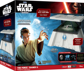 Star Wars Science Force Trainer II Brain-Sensing Hologram Electronic Game