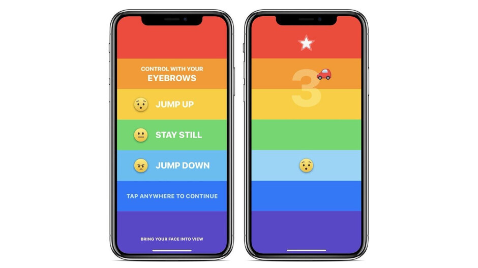 This eyebrow-controlled iPhone X game will give you wrinkles