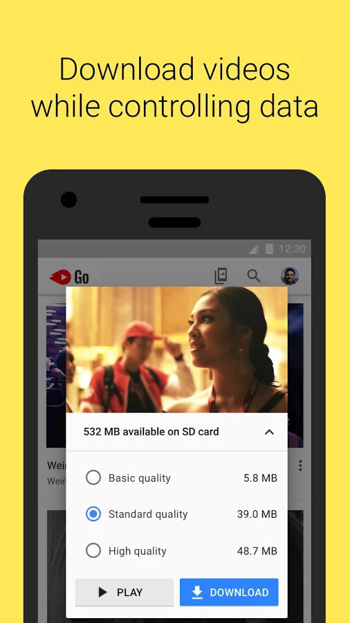 download youtube go new version