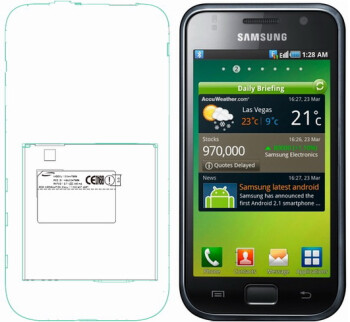 Samsung SGH-T959 over at the FCC flaunts T-Mobile 3G - most likely the Galaxy S