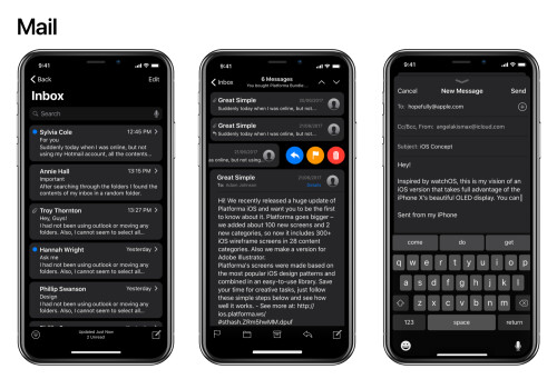 Systemwide Dark Mode for the iPhone X