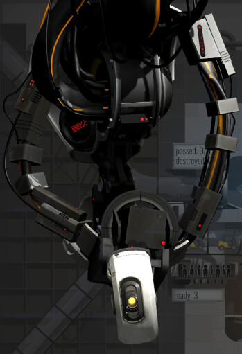 GLaDOS is here... and she still hates you