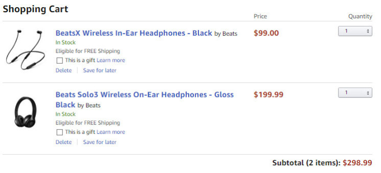 Deal: BeatsX and Beats Solo3 wireless headphones are on sale for 30% off on Amazon