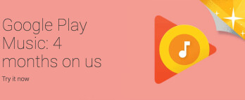 Google Play Music 4-month free trial offer is back, but not for everyone