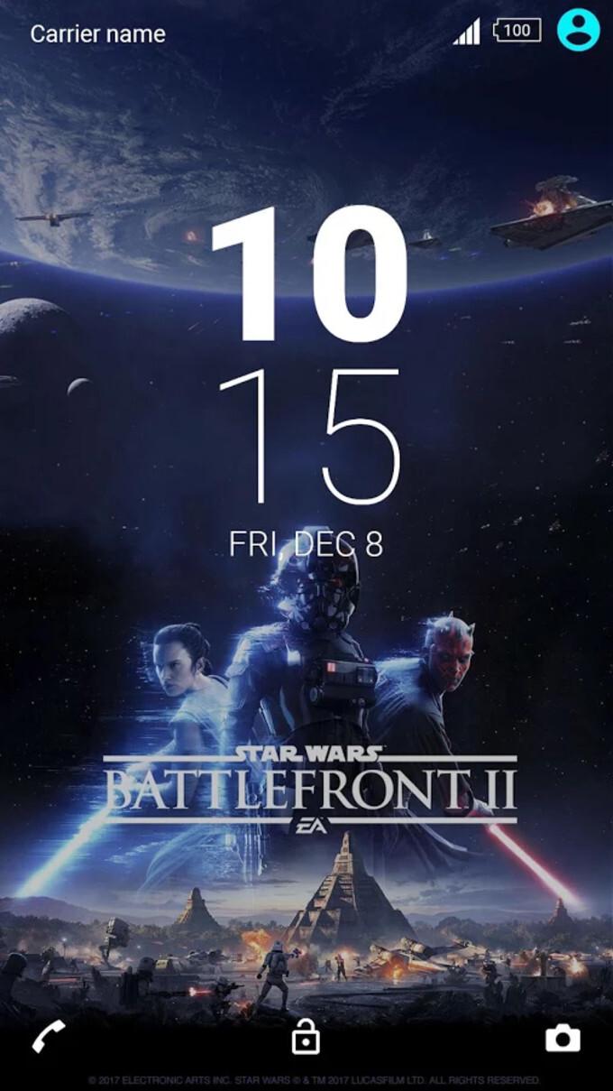 Star Wars Battlefront II Xperia Theme