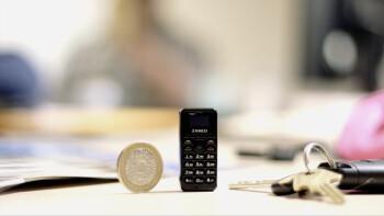 Zanco Tiny t1: Ponsel Terkecil di Dunia