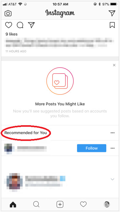 Instagram is adding a section that shows you posts on your feed from people you don't follow - Instagram will now send recommended posts to your feed from members you don't follow