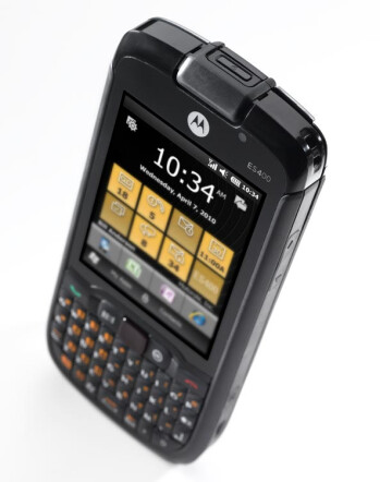 Sprint will be seeing the rugged style Motorola ES400 packing Windows Mobile