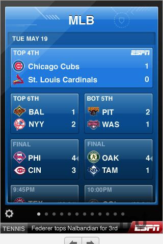 ESPN ScoreCenter now available in Android Market, Dah-Dah-Dah, Dah-Dah-Dah
